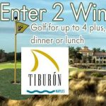 Win Golf and Lunch at Tiburón Golf Club at the Ritz Carlton Naples FL