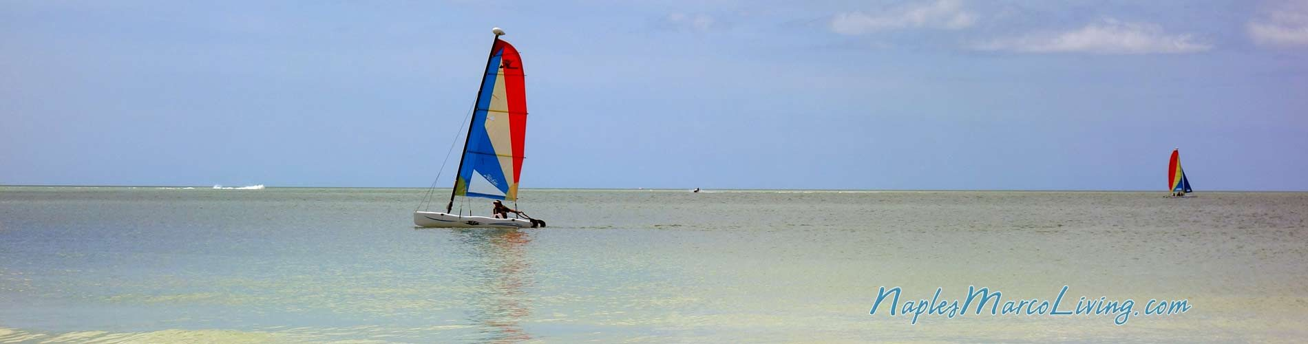 Ocean Sailing Sailboats in the Gulf of Mexico Naples Florida